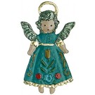 Floating Baby Angel Pewter Ornament