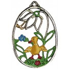 Chick Pewter Ornament