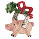 Lucky Pig and Horseshoe