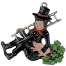 Chimneysweep with Lucky Clovers