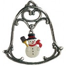 Bell with Snowman