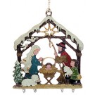 3-D Forest Nativity