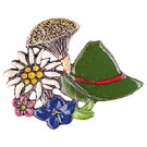 Swiss Hat and Edelweiss