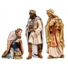 The Three Kings Wooden Figurines