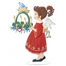 Angel Carrying Advent Wreath
