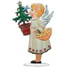 Angel with Tree and Basket