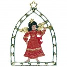 Angel with Trumpet in Arch Window