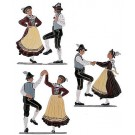 The Costumed Dance Couple