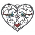 Large Heart with Birds