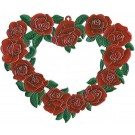 Large Heart of Roses