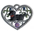 Heart with Dog