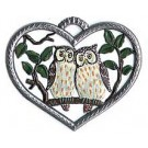 Heart with Owls