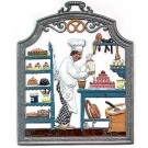 The Pastry Chef Pewter Ornament
