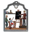The Male Teacher Pewter Ornament
