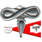 Bow Pewter Pin