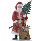 Schweizer Santa with Tree and Sack