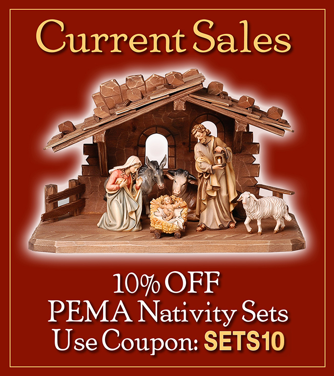 Year around Nativity set sale...