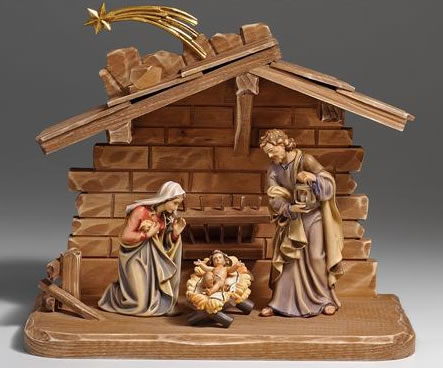 Alpine Gift Ideas Kostner Nativity Sets Pema Wood
